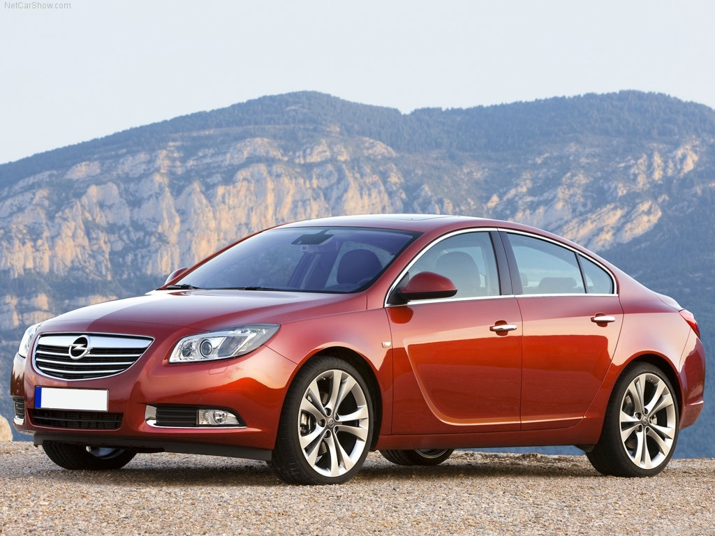 OPEL INSIGNIA I phase 1 4P/5P/BREAK du 01/2009 au 08/2013
