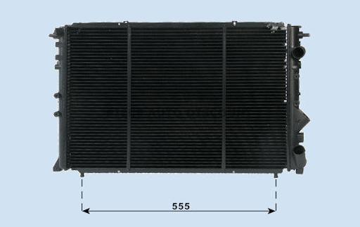 Accéder à la pièce Radiateur 2,0L - 2,2L - 2.1L TD clim.
