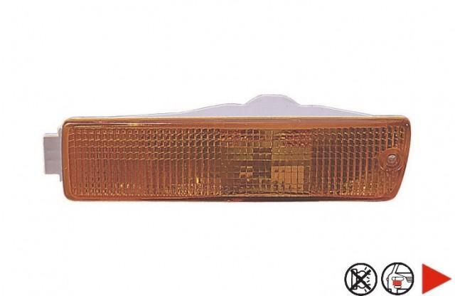 feu avant droit orange gros pare chocs volkswagen golf 2 du 09 1983 au 08 1991 oem 191953156. Black Bedroom Furniture Sets. Home Design Ideas