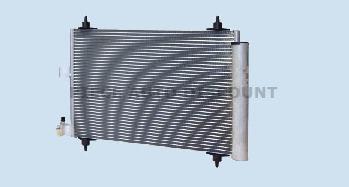 Accéder à la pièce Condenseur de climatisation HDI