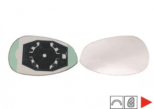 glace support r troviseur droit fiat 500 000071740496. Black Bedroom Furniture Sets. Home Design Ideas