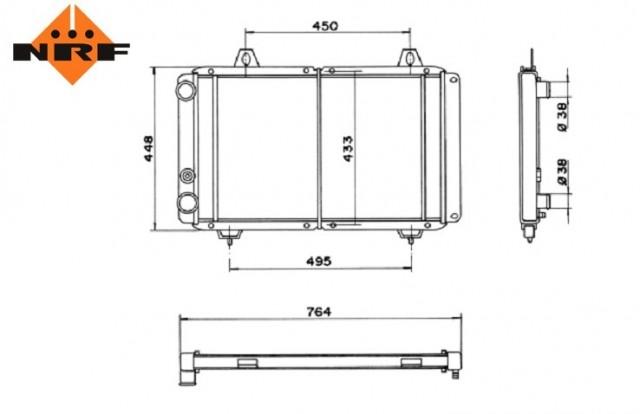 Accéder à la pièce Radiateur 1,9L D/TD - 2,5L D/TD