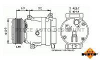Accéder à la pièce Compresseur de climatisation 2.2L Dci