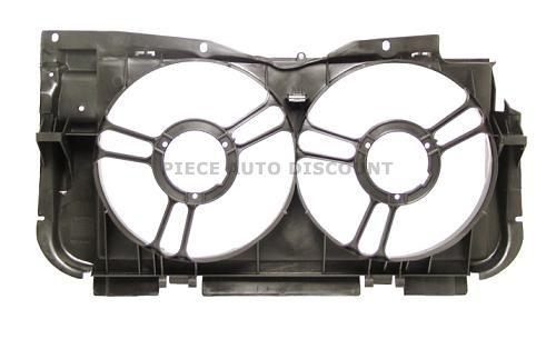 Accéder à la pièce Support ventilateurs double (Diésel/Gti)