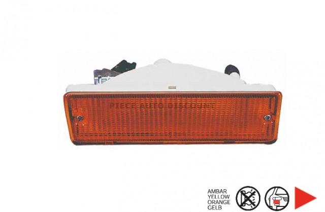 feu avant droit orange citroen c15 du 01 1989 au 12 2005 oem 95614885. Black Bedroom Furniture Sets. Home Design Ideas