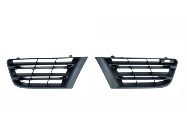 kit grille calandre noires renault scenic ii phase 2 du 09 2006 au 04 2009 oem 7701477306. Black Bedroom Furniture Sets. Home Design Ideas