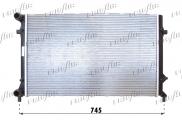 Accéder à la pièce Radiateur 1.6L - 1.6L FSI
