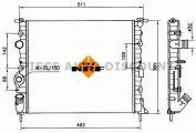 Accéder à la pièce Radiateur essence 1.4L - 1.6L