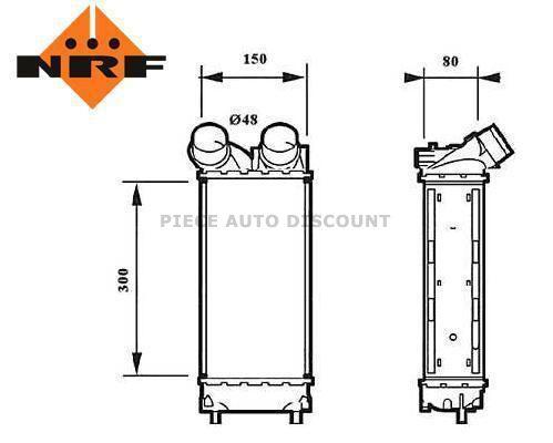 Accéder à la pièce Refroidisseur echangeur air Turbo