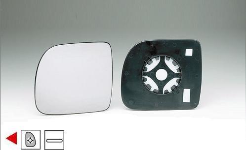 Accéder à la pièce Glace + support rétroviseur gauche 94->