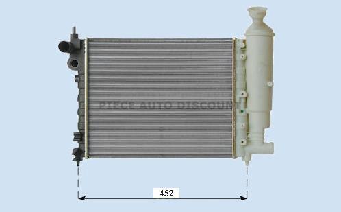 Accéder à la pièce Radiateur essence 1.0L - 1.1L - 1.4L