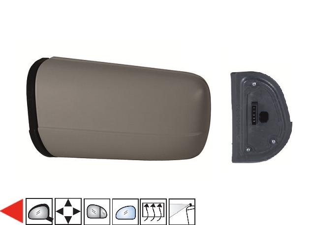 r troviseur gauche lectrique chauffant peindre grand angle 96 oem 2108106316. Black Bedroom Furniture Sets. Home Design Ideas