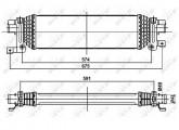 Accéder à la pièce Refroidisseur échangeur air turbo 1.4L TDCI - 1.6L TDCI