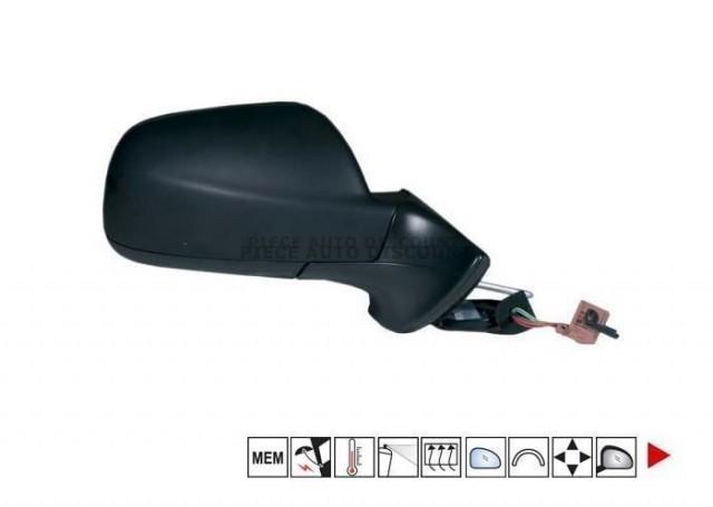 Accéder à la pièce Rétroviseur droit électrique, chauffant, rabattable + sonde + mémoire