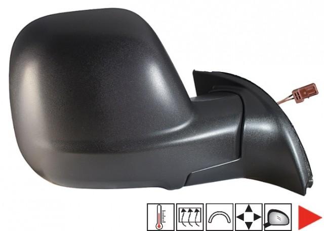 r troviseur droit lectrique chauffant sonde peugeot partner ii phase 2 du 03 2012 au 04 2015. Black Bedroom Furniture Sets. Home Design Ideas