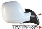 Accéder à la pièce Rétroviseur droit électrique, chauffant, rabattable à peindre + sonde