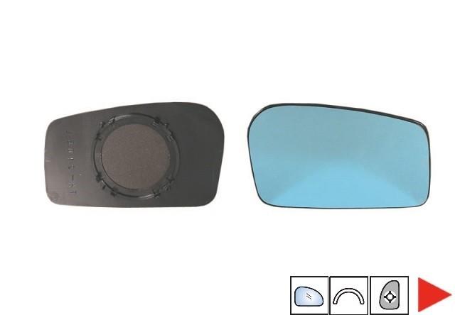 Accéder à la pièce Glace bleue + support rétroviseur droit