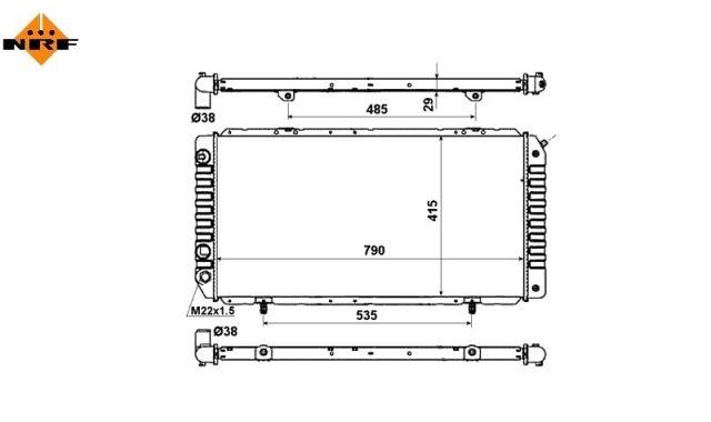 Accéder à la pièce Radiateur 2.0L ess. - 1.9L/2.5L D-TD - 2.5LD - 2.2L et 2.8L Hdi