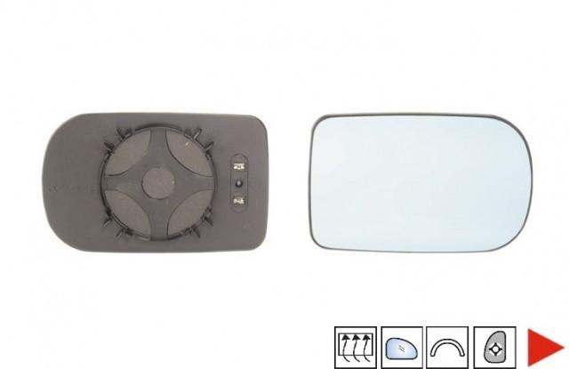 glace bleue support r troviseur droit chauffant bmw serie 5 e39 phase 1 du 08 1995 au 08 2000. Black Bedroom Furniture Sets. Home Design Ideas