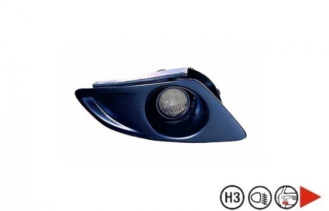 projecteur anti brouillard droit mazda 6 phase 1 du 04 2002 au 06 2005 oem gj6a516a1. Black Bedroom Furniture Sets. Home Design Ideas