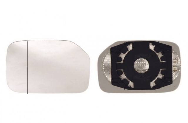 Accéder à la pièce Glace + support rétroviseur gauche chauffant [grand angle]