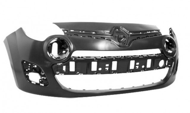 pare chocs avant peindre renault twingo ii phase 2 du 01 2012 au 08 2014 oem 620228072r. Black Bedroom Furniture Sets. Home Design Ideas