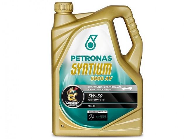 Accéder à la pièce Bidon Huile 5L Petronas Syntium 5000 AV 5W-30