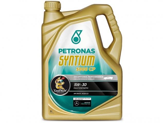 Accéder à la pièce Bidon Huile 5L Petronas Syntium 5000 CP 5W-30