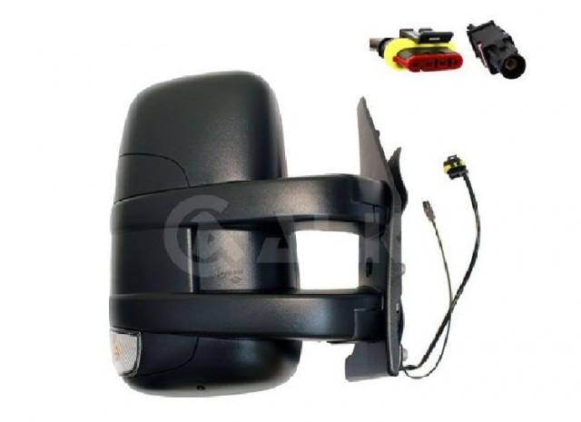 Accéder à la pièce Rétroviseur droit manuel + feu + antenne [Court]