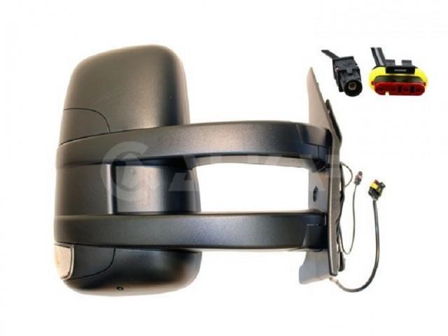 Accéder à la pièce Rétroviseur droit manuel + feu + antenne [Long]