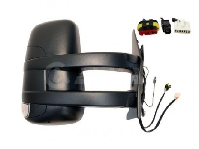 Accéder à la pièce Rétroviseur droit électrique, chauffant + feu + antenne [Long]