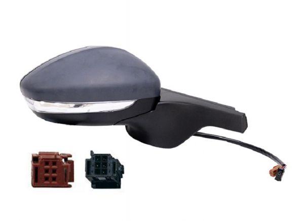 Accéder à la pièce Rétroviseur droit électrique, chauffant à peindre + feu + sonde