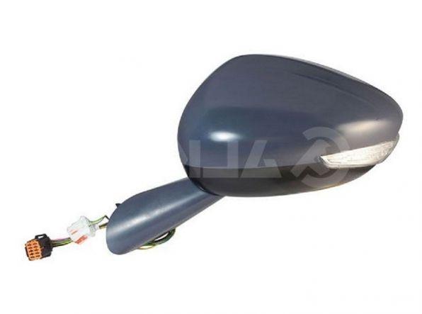 Accéder à la pièce Rétroviseur gauche électrique, chauffant , rabattable à peindre + feu + coutoisie + mémoire + side + LED